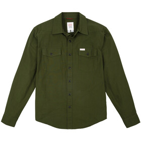Topo Designs Mountain Lightweight Shirt Men, olive